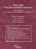 Civil Procedure:   2015 edition cover