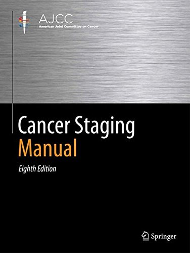 AJCC Cancer Staging Manual  8th 2017 9783319406176 Front Cover