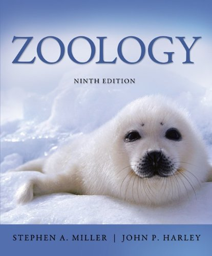 Zoology  9th 2013 edition cover