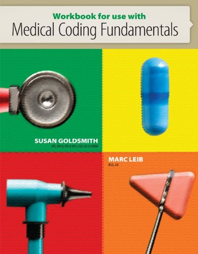 Workbook for Use with Medical Coding Fundamentals   2013 edition cover