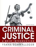 Criminal Justice + New Mycjlab With Pearson Etext: A Brief Introduction  2015 edition cover