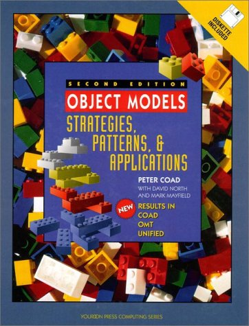Object Models Strategies, Patterns, and Applications 2nd 1997 9780138401177 Front Cover