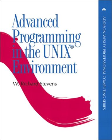 Advanced Programming in the UNIX Environment   1992 edition cover