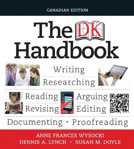 DK Handbook, First Canadian Edition   2013 9780205776177 Front Cover