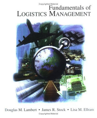 Fundamentals of Logistics   1998 edition cover