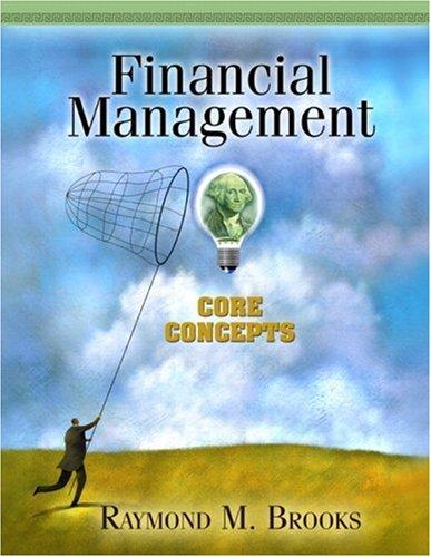 Financial Management Core Concepts  2010 edition cover