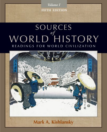 Sources of World History, Volume I  5th 2012 edition cover