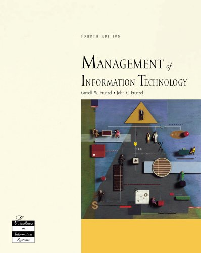 Management of Information Technology  4th 2004 (Revised) edition cover