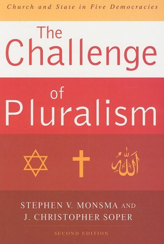 Challenge of Pluralism Church and State in Five Democracies 2nd 2008 edition cover