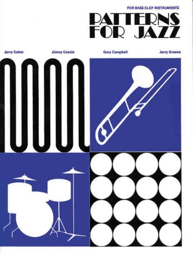 Patterns for Jazz -- A Theory Text for Jazz Composition and Improvisation Bass Clef Instruments  1986 edition cover
