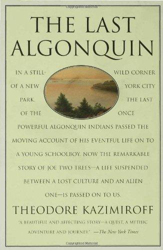 Last Algonquin   1997 edition cover