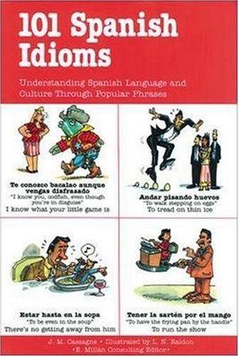 101 Spanish Idioms   1995 edition cover