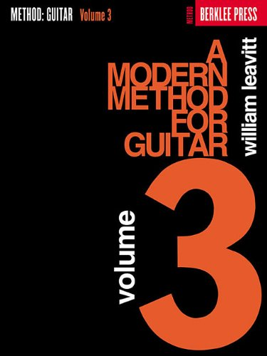 Modern Method for Guitar Advanced N/A edition cover