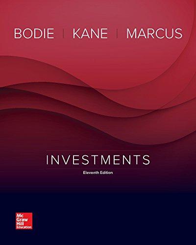 Investments  11th 2018 9781259277177 Front Cover