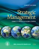 Strategic Management: Concepts and Cases Competitiveness and Globalization 11th 2015 9781285425177 Front Cover