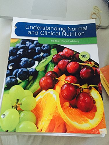 UNDERSTAND.NORMAL+CLIN.NUTRITION-ACCESS N/A 9781285847177 Front Cover