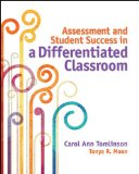 Assessment and Student Success in a Differentiated Classroom  N/A edition cover