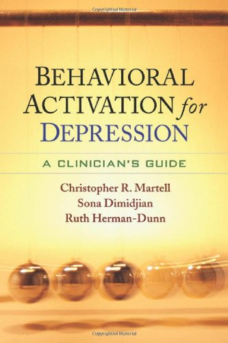 Behavioral Activation for Depression A Clinician's Guide  2010 edition cover