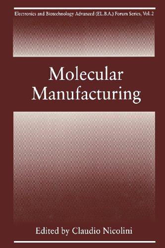 Molecular Manufacturing   1996 9781489902177 Front Cover