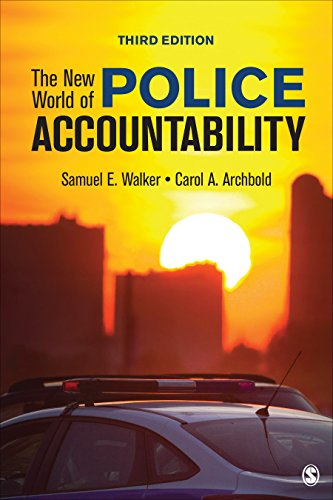 New World of Police Accountability  3rd 2020 9781544339177 Front Cover