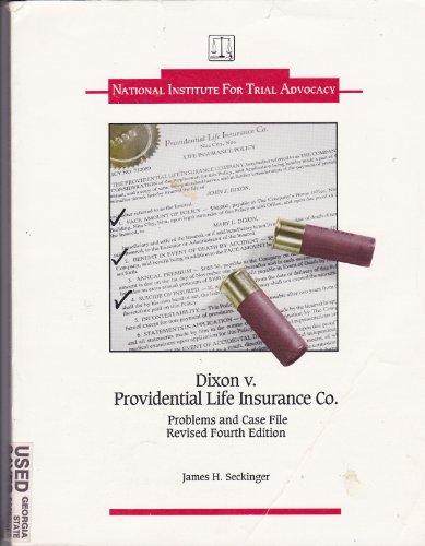 Dixon vs. Providential Life Insurance Company 4th 1999 (Revised) edition cover