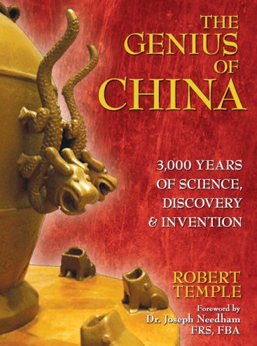 Genius of China 3,000 Years of Science, Discovery, and Invention  2007 edition cover