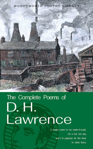 Complete Poems of D. H. Lawrence   2002 edition cover