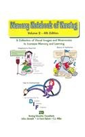 Memory Notebook of Nursing, Vol 2 A Collection of Visual Images and Mnemonics  2011 edition cover
