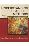 Understanding Research Methods: An Overview of the Essentials 9th 2013 edition cover