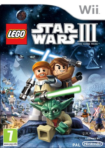 Wii lego star wars iii : the clone wars (eu) Nintendo Wii artwork