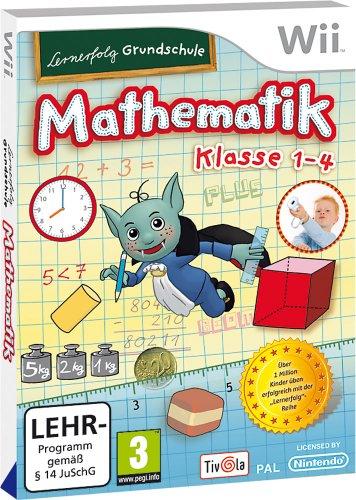 Lernerfolg Grundschule: Mathematik Klasse 1-4 Nintendo Wii artwork
