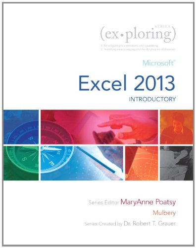 Exploring Microsoft Excel 2013, Introductory  2014 edition cover