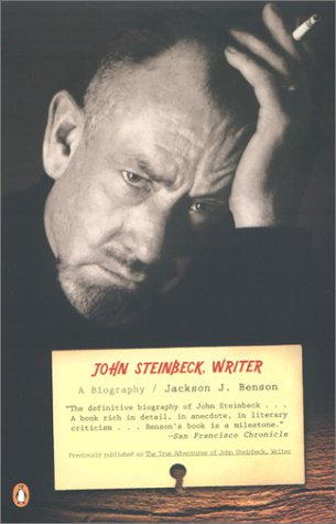 John Steinbeck, Writer A Biography Reprint  edition cover