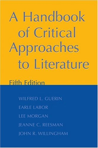 Handbook of Critical Approaches to Literature  5th 2004 (Revised) edition cover