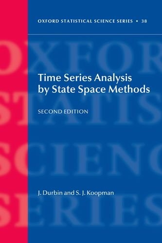 Time Series Analysis by State Space Methods  2nd 2012 edition cover
