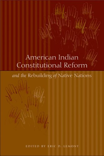American Indian Constitutional Reform and the Rebuilding of Native Nations   2006 edition cover