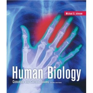 Human Biology: Concepts and Current Issues  2009 edition cover