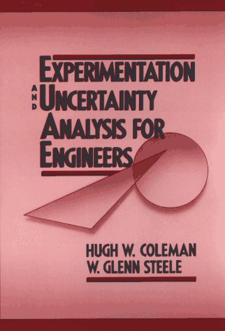 Experimentation and Uncertainty Analysis for Engineers   1989 9780471635178 Front Cover