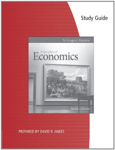 Principles of Economics  6th 2012 9780538477178 Front Cover