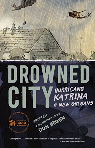 Drowned City Hurricane Katrina and New Orleans  2015 9780544586178 Front Cover