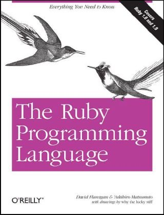Ruby Programming Language   2008 edition cover