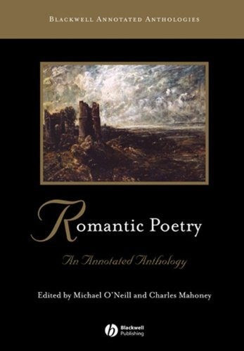 Romantic Poetry An Annotated Anthology  2007 (Annotated) edition cover