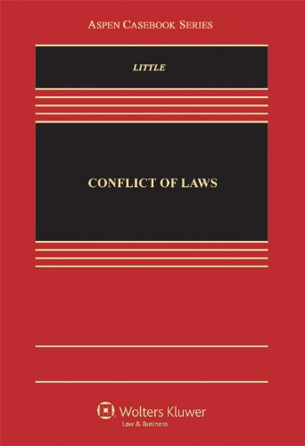 Conflicts of Law  N/A edition cover