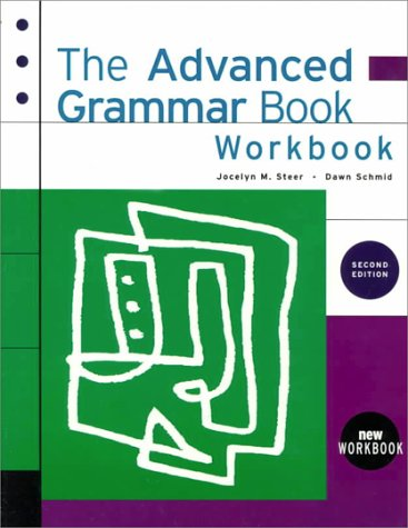 Advanced Grammar Book  2nd 1998 (Workbook) edition cover