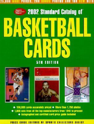 2002 Standard Catalog of Basketball Cards 5th 2001 9780873493178 Front Cover