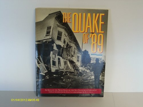 Quake of '89  N/A 9780877015178 Front Cover