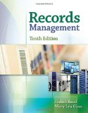 Records Management Simulation Package 10th edition cover