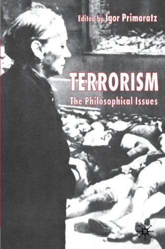 Terrorism The Philosophical Issues  2004 edition cover