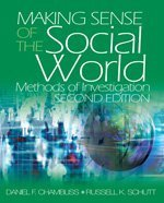 Making Sense of the Social World Methods of Investigation 2nd 2006 (Revised) edition cover