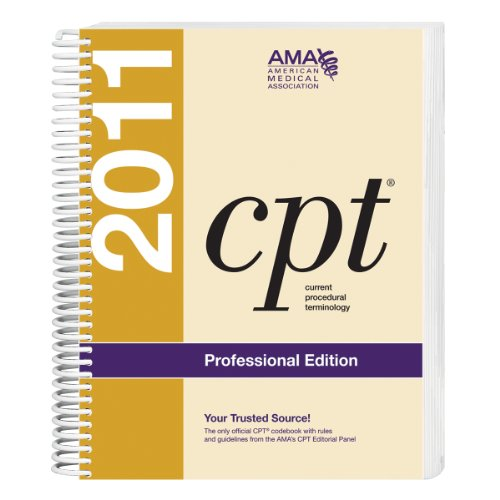 CPT 2011 Current Procedural Terminology  2011 edition cover